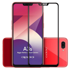 Oppo A3S 5D Glass Screen Protector