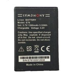 Symphony E76 Battery