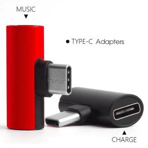 Type C to 3.5mm Music Audio Plus Charging Converter