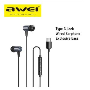 Awei TC-1 Type-C Jack Earphone