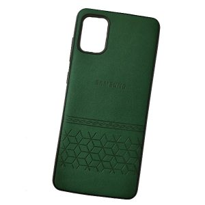 Samsung A51 Leather Back Cover